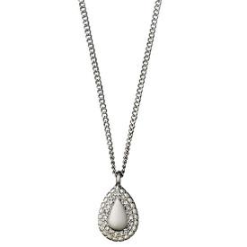 Pilgrim Necklace Silver Plated Crystal 40cm + 9cm  601636061