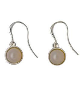 Pilgrim Worthy Drop Earrings Silver Plated Grey 161646113