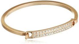 Pilgrim Bracelet Gold Plated Crystal 601612042