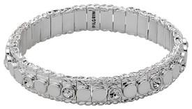 Pilgrim Bracelet Silver Plated Crystal 60153-6082