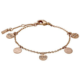 Pilgrim  Grace Bracelet Rose Gold Plated Crystal 161724012