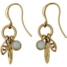 Pilgrim  Kornelia Drop Earrings Gold Plated 201722813
