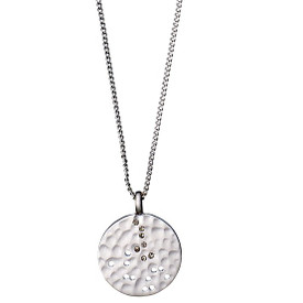 Pilgrim  Isadora Necklace Silver Plated 211726111