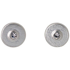 Pilgrim Eilidh Stud Earrings Silver Plated Crystal 161736003