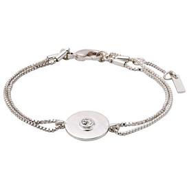 Pilgrim Eilidh Bracelet Silver Plated Crystal 161736002