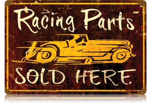 Vintage-Retro Racing Parts Metal-Tin Sign