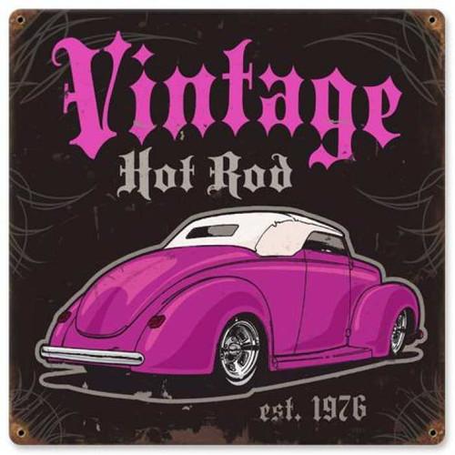 Vintage-Retro Vintage-Retro Hot Rod Metal-Tin Sign