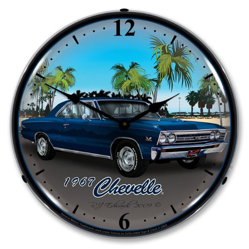 1967 Chevelle Lighted Wall Clock