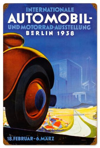 Vintage-Retro International Auto Metal-Tin Sign 16 x 24 Inches