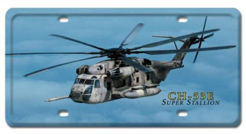 Vintage-Retro CH-53E Super Stallion License Plate