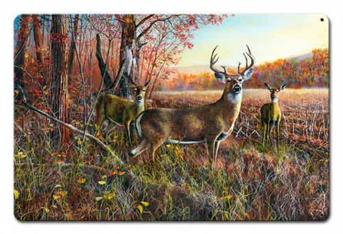The Gathering Metal Sign 18 x 12 Inches