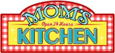 Vintage-Retro Mom's Kitchen Metal Street Sign