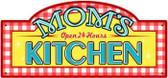 Vintage-Retro Mom's Kitchen Metal Street Sign