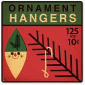 Vintage-Retro Ornament Hangers Metal-Tin Sign
