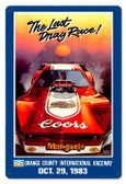 Vintage-Retro Mongoose Orange County Metal-Tin Sign