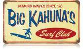 Vintage-Retro Big Kahuna Metal-Tin Sign