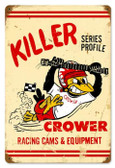 Vintage-Retro Killer Series Metal-Tin Sign