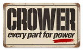 Vintage-Retro Parts for Power Metal-Tin Sign