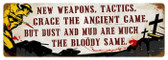 Vintage-Retro New  Weapons Metal-Tin Sign