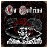Vintage-Retro La Catrina Metal-Tin Sign