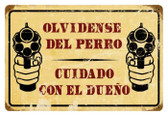 Vintage-Retro Cuidado Metal-Tin Sign