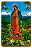 Vintage-Retro Guadalupe Metal-Tin Sign