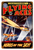 Vintage-Retro Flying Aces Metal-Tin Sign