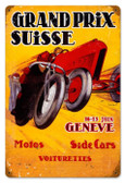 Vintage-Retro Grand Prix Suisse Metal-Tin Sign