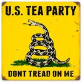 Vintage-Retro US Tea Party Metal-Tin Sign