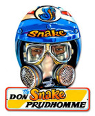 Vintage-Retro Don Prudhomme Helmet Metal-Tin Sign