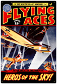 Vintage-Retro Flying Aces Metal-Tin Sign LARGE