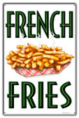 Vintage-Retro French Fries Metal-Tin Sign 4