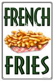 Vintage-Retro French Fries Metal-Tin Sign 4