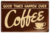 Vintage-Retro Coffee Metal-Tin Sign LARGE RPC145