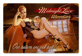Vintage-Retro Midnight Lace Metal-Tin Sign