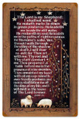Vintage-Retro Lords Prayer Metal-Tin Sign