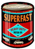 Vintage-Retro Oil Can Metal-Tin Sign