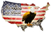 Vintage-Retro In God We Trust Metal-Tin Sign