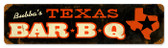 Vintage-Retro Texas Metal-Tin Sign