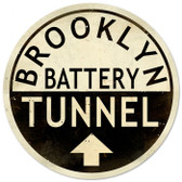 Vintage-Retro Brooklyn Tunnel Metal/ Tin Sign
