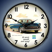 Vintage-Retro  1957 Bel Air Convertible Lighted Wall Clock
