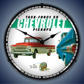 Vintage-Retro  1959 Chevrolet Pickup Lighted Wall Clock