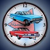 Vintage-Retro  1960 Impala Lighted Wall Clock