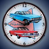 Vintage-Retro  1960 Impala Lighted Wall Clock