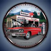 Vintage-Retro  1964 Impala Garage Lighted Wall Clock