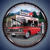 Vintage-Retro  1964 Impala Garage Lighted Wall Clock
