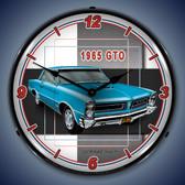 Vintage-Retro  1965  GTO Lighted Wall Clock