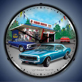 Vintage-Retro  1967 Camaro Lighted Wall Clock