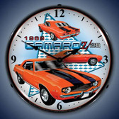 Vintage-Retro  1969 Camaro Z28 Lighted Wall Clock