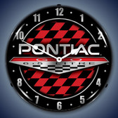 Vintage-Retro  Pontiac GTO Lighted Wall Clock